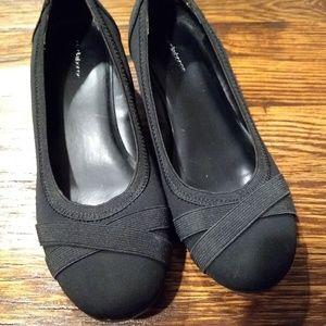 Black Wedges Liz Claiborne Size 7M